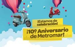 X Aniversario Metromar