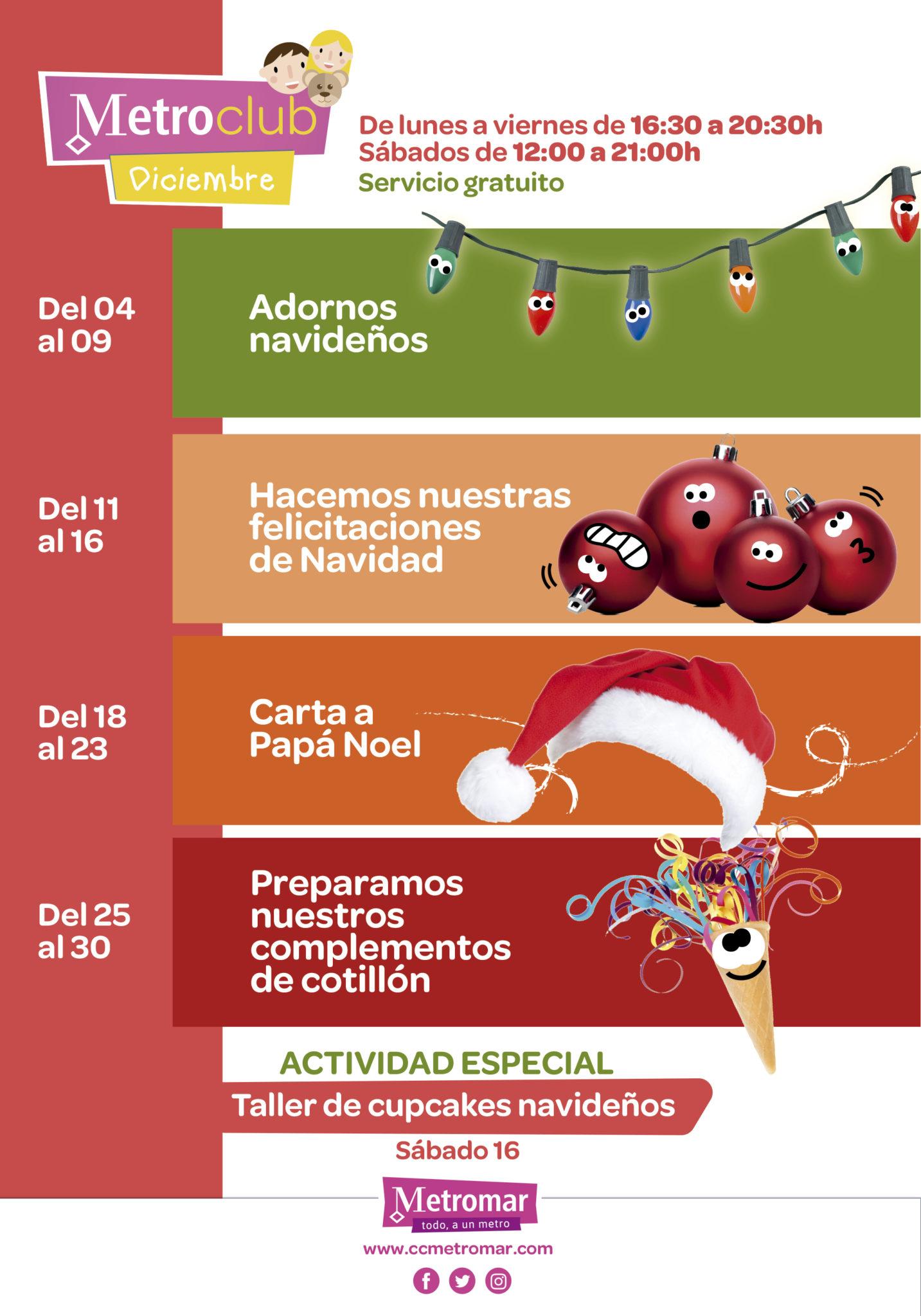 actividades ludoteca diciembre