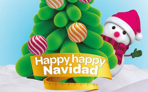Calendario de actividades de Navidad