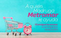 A quien madruga, Metromar le ayuda