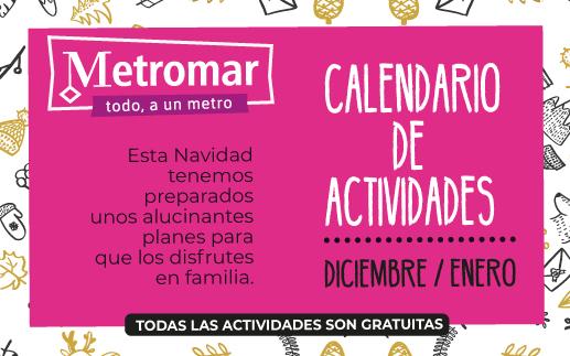 Calendario de actividades Navidad