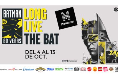 Metromar se convierte en Gotham para homenajear el 80º Aniversario de Batman